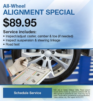 All-Wheel Alignment Special