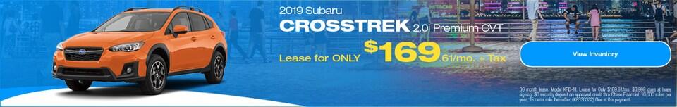 2019 Subaru Crosstrek September Offer