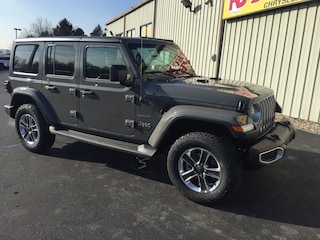 New 2019 Jeep Wrangler UNLIMITED SAHARA 4X4 Sport Utility Elverson, PA