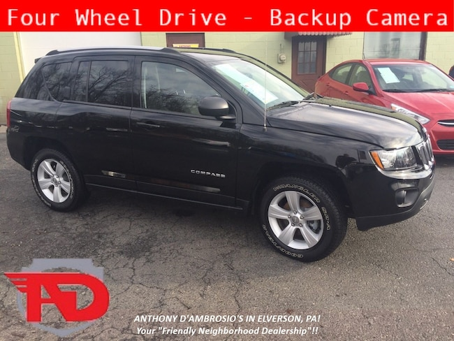 Certified Pre-Owned 2017 Jeep Compass Sport 4x4 SUV Elverson, PA
