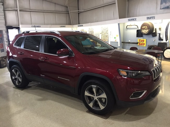 New 2019 Jeep Cherokee LIMITED 4X4 Sport Utility Elverson, PA
