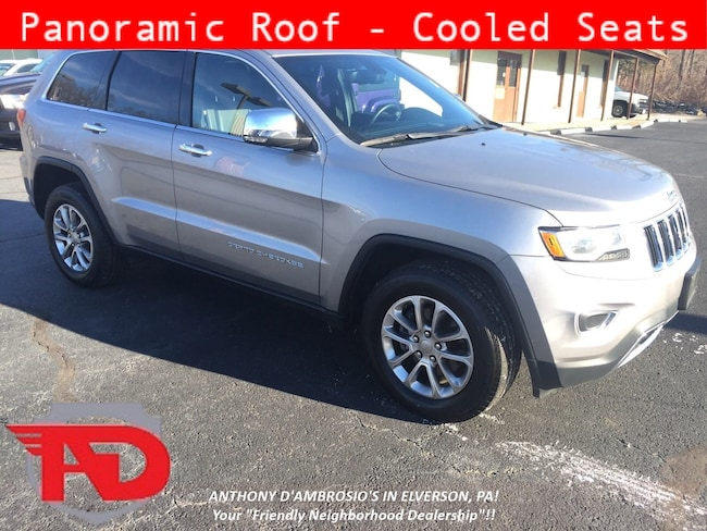 Used 2015 Jeep Grand Cherokee Limited 4x4 SUV Elverson, PA
