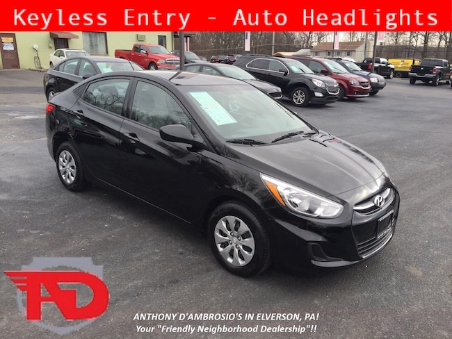 Used 2017 Hyundai Accent SE Sedan Elverson, PA