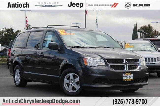 Used 2012 Dodge Grand Caravan Sxt For Sale In Antioch Ca