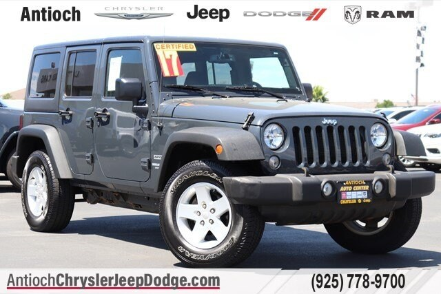 2017 Jeep Wrangler JK Unlimited