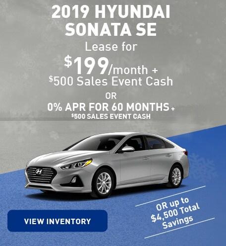 January 2019 Hyundai Sonata
