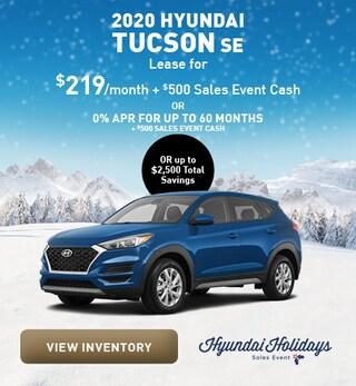 December 2020 Hyundai Tucson