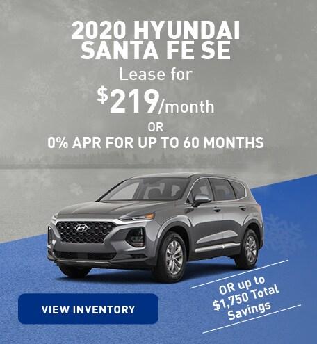 January 2020 Hyundai Santa Fe