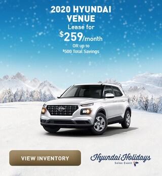 December 2020 Hyundai Venue