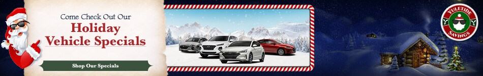 2019 Hyundai Holiday Specials