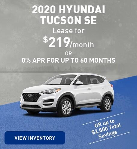 January 2020 Hyundai Tucson