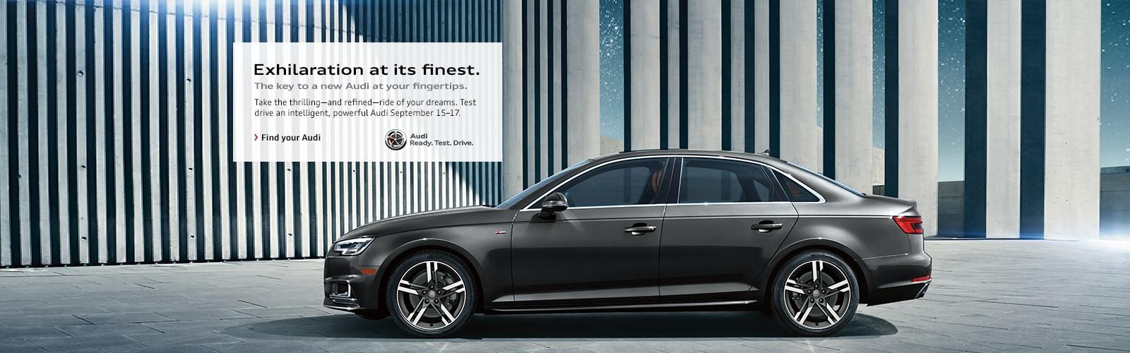 Audi Cincinnati East - Ready Test Drive Event
