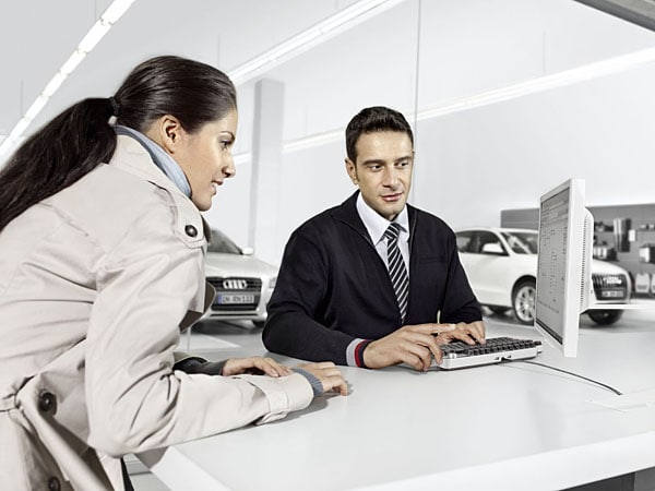 audi finance department