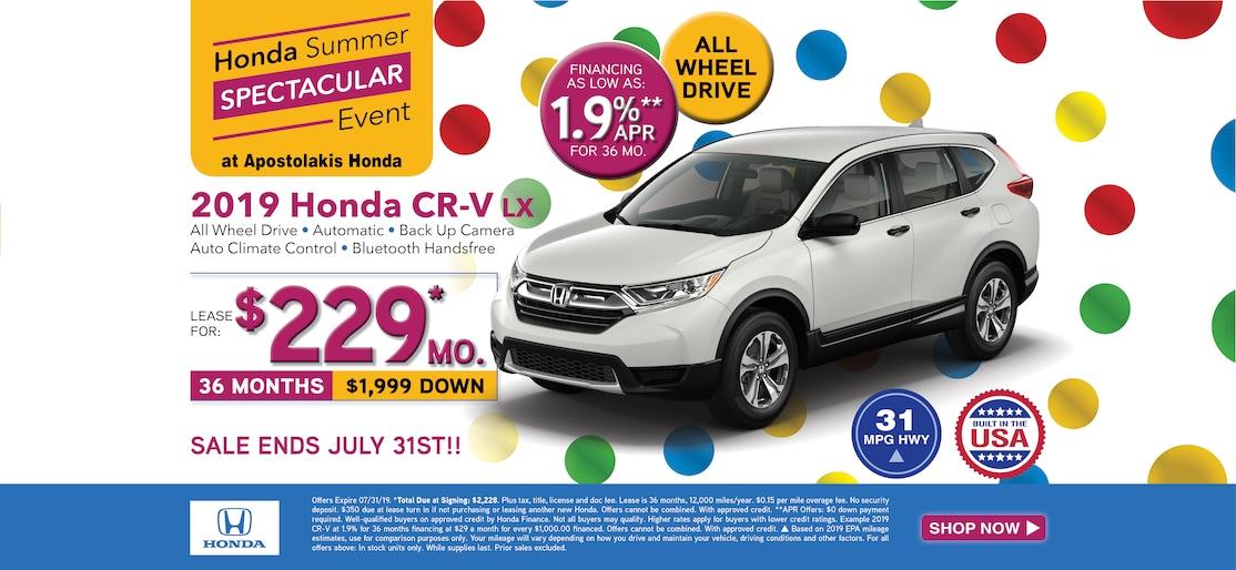 Honda Dealers Cleveland >> Apostolakis Honda New Honda And Used Car Dealer Serving Cortland Oh