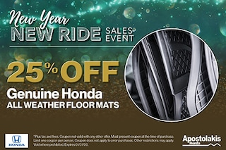 Genuine All Weather Floor Mats