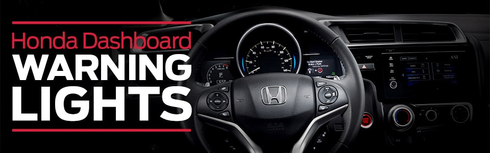Honda Dashboard Warning Lights