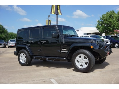 Used 2007 Jeep Wrangler Unlimited For Sale at Brenham Chrysler Jeep
