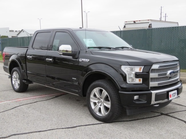 Used 2017 Ford F-150 Platinum Truck for sale in Brenham, TX