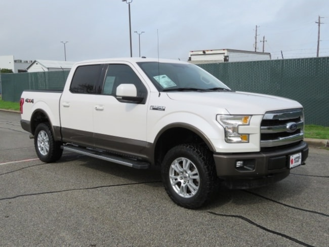Used 2016 Ford F-150 Lariat Truck for sale in Brenham, TX