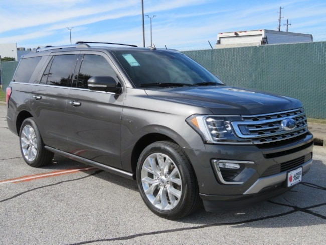 New 2018 Ford Expedition Limited SUV for sale in Brenham, TX