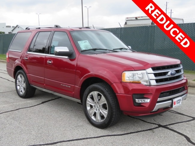 Used 2015 Ford Expedition Platinum SUV for sale in Brenham, TX
