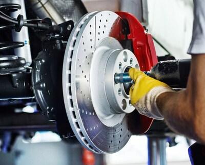 Front and rear brake service $249.00 per axle