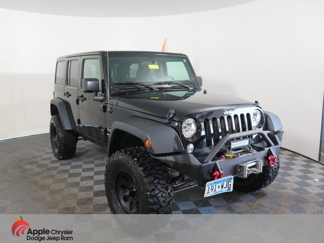 2017 Jeep Wrangler Unlimited Sport Lifted SUV