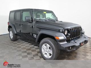 New 2018 Jeep Wrangler UNLIMITED SPORT S 4X4 Sport Utility for sale in Shakopee