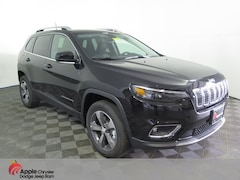 Used 2019 Jeep Cherokee Limited SUV for sale in Shakopee