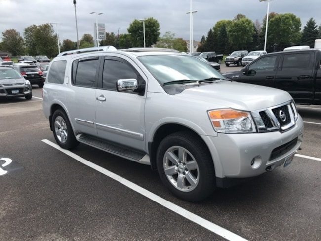 Used 2010 Nissan Armada Platinum For Sale Shakopee Mn Stock