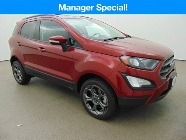 New 2018 Ford EcoSport SES SUV near Baltimore, MD