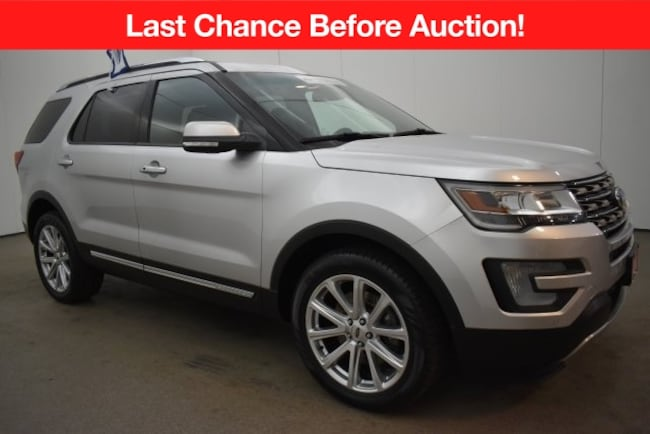 Certified Pre-Owned 2016 Ford Explorer Limited SUV near Baltimore