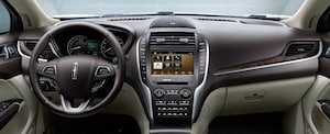 2018 Lincoln MKC dashboard