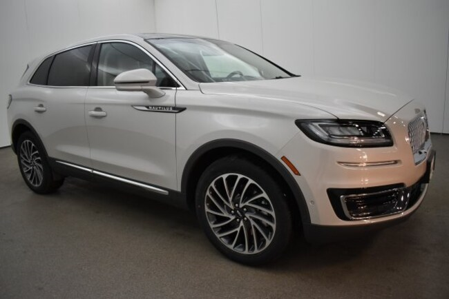 New 2019 Lincoln Nautilus Reserve SUV near Baltimore, MD