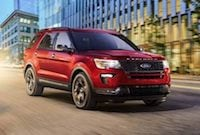 2018 Ford Explorer near Baltimore
