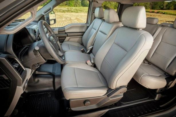 2017 Ford F-250 interior