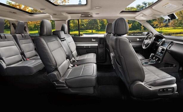 2018 Ford Flex interior