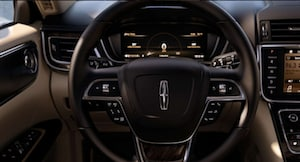 2018 Lincoln Continental steering wheel