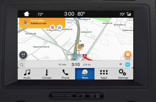 Waze navigation