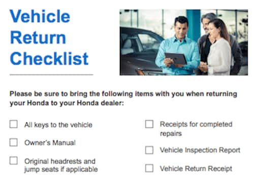 Review Your Vehicle's Condition