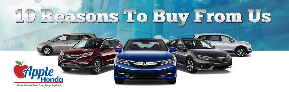 Why Buy From Apple Honda?
