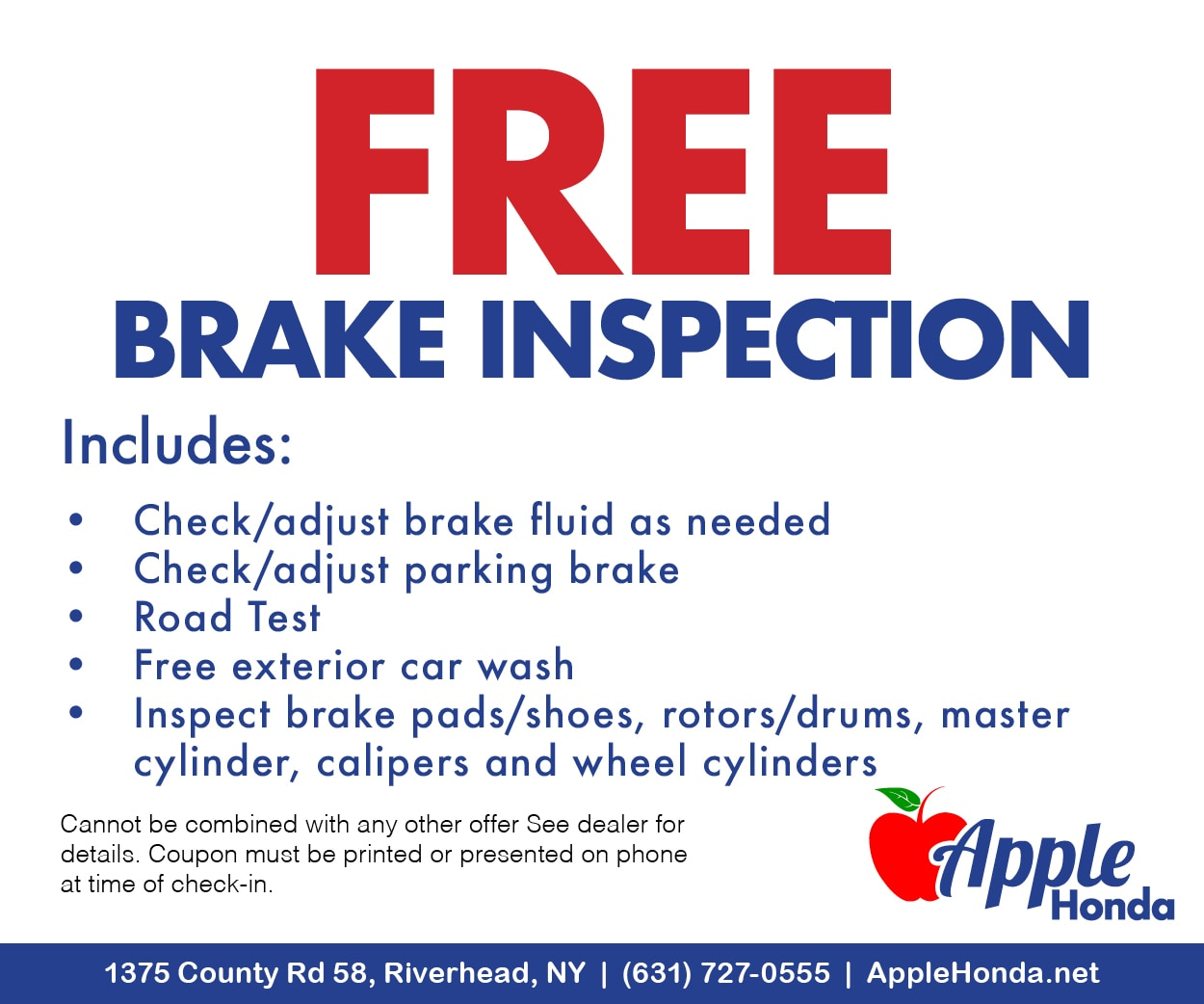 Request More Info · Email A Friend · Print. Full Synthetic Oil Change