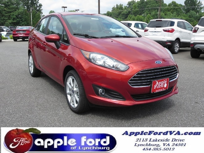 New 2018 Ford Fiesta SE Sedan in Lynchburg, VA