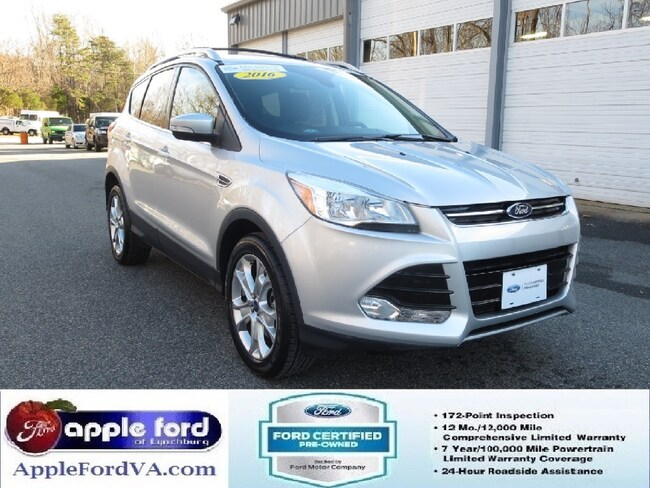 Certified 2016 Ford Escape Titanium SUV in Lynchburg, VA