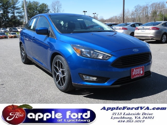 New 2018 Ford Focus SE Sedan in Lynchburg, VA