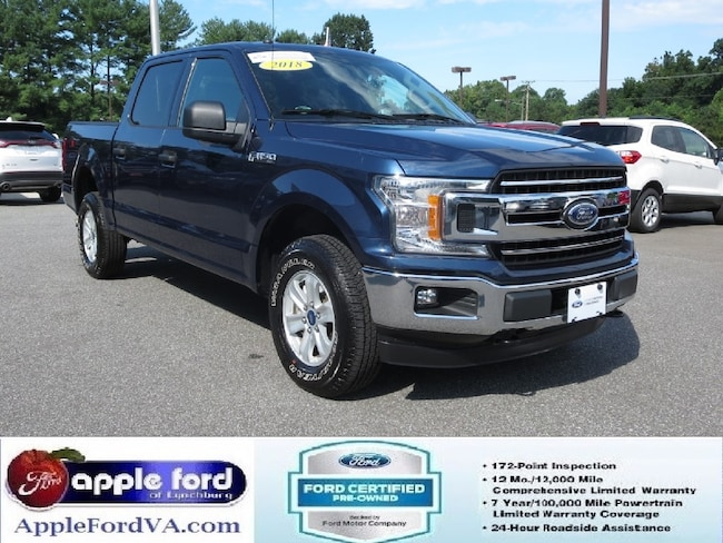Certified 2018 Ford F-150 XLT Truck SuperCrew Cab in Lynchburg, VA