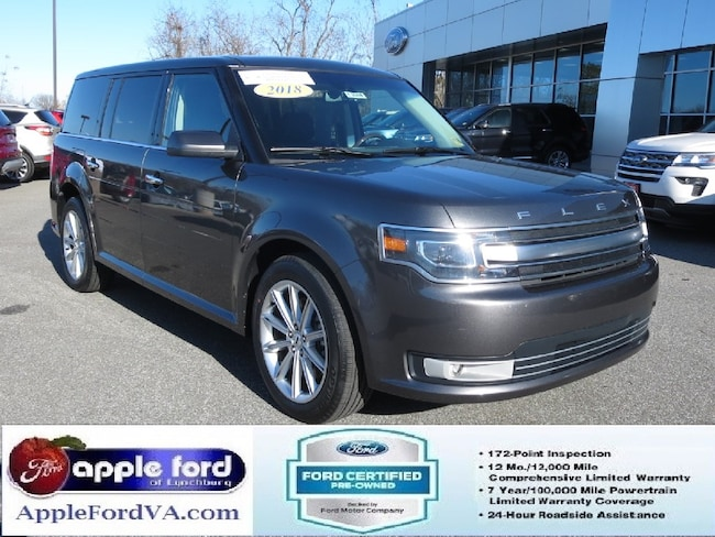 Certified 2018 Ford Flex Limited SUV in Lynchburg, VA