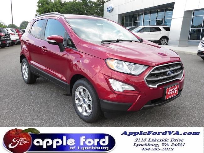 New 2018 Ford EcoSport SE SUV in Lynchburg, VA