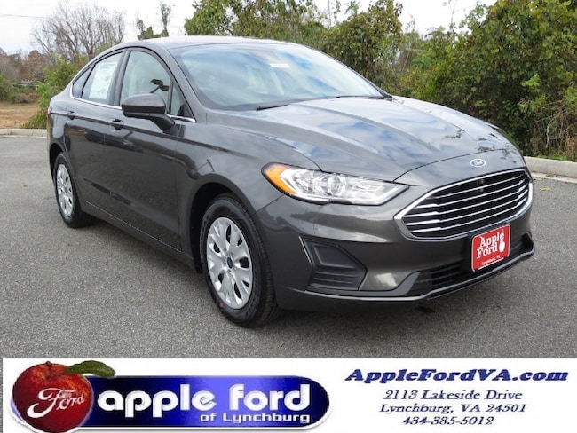 New 2019 Ford Fusion S Sedan in Lynchburg, VA