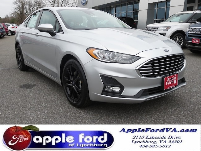 New 2019 Ford Fusion SE Sedan in Lynchburg, VA